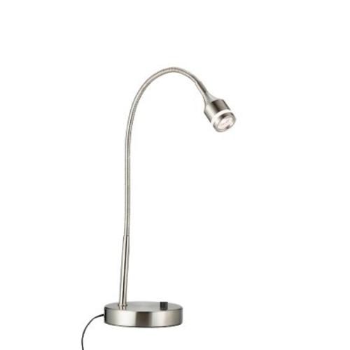 Adesso 3218-22 Prospect LED Table Lamp, satin steel