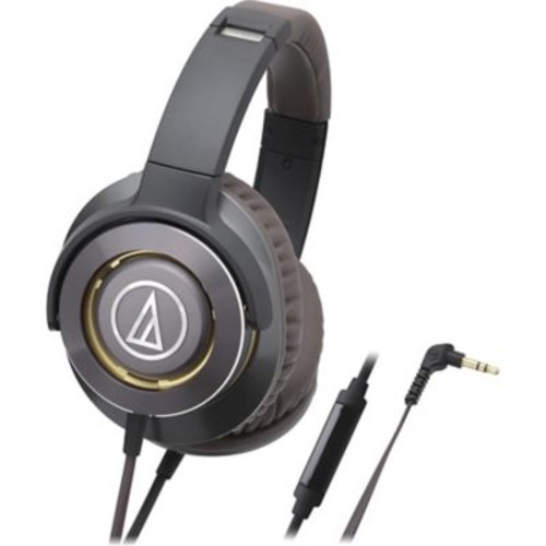Audio-Technica Solid Bass Over-Ear Headphones with In-line Mic & Control (1Y7937)