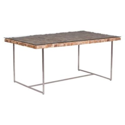 ZUO Collage Natural Dining Table