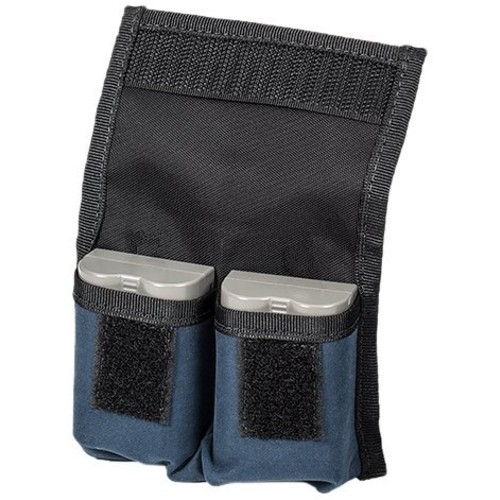 LensCoat 4-Battery Pouch camera battery holder for DSLR (Navy) : Photographic Equipment Bag Accessories : Camera & Photo