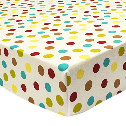 Hopscotch Polka Dot Fitted Sheet