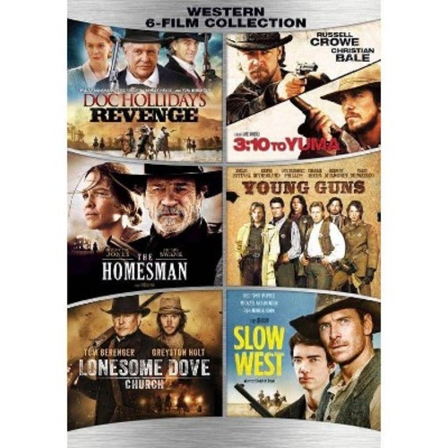 Western 6 Film Collection (DVD)