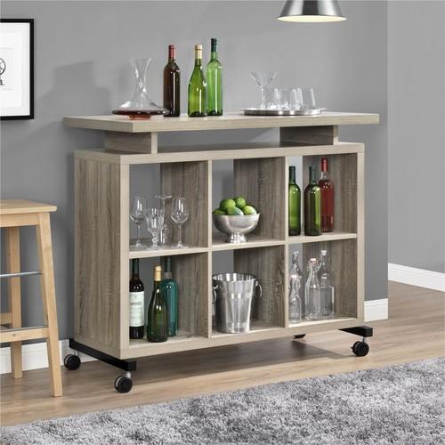 Dorel Lincoln Sonoma Oak Multipurpose Standing Desk
