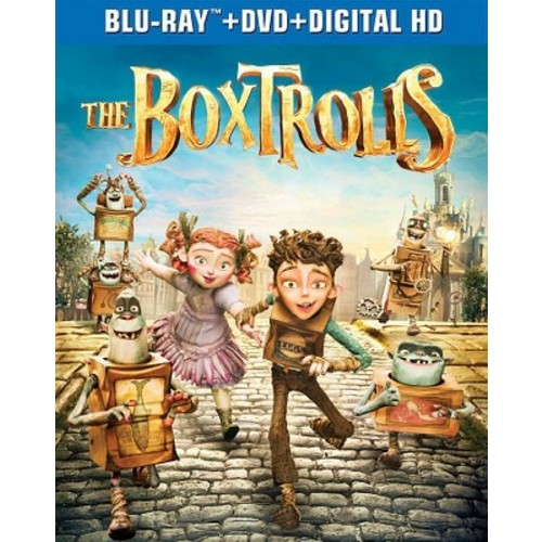 The Boxtrolls (2 Discs) (Includes Digital Copy) (UltraViolet) (Blu-ray/DVD)