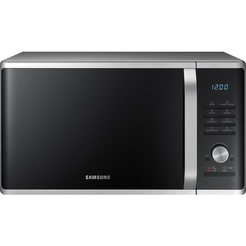 Samsung - 1.1 Cu. Ft. Mid-Size Microwave - Stainless steel