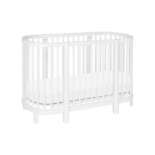 Hula Oval Convertible Crib [Mattress : Pure Core]