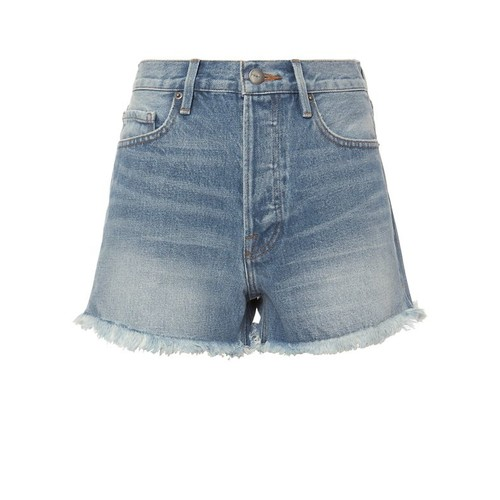 FRAME Le Original Light Blue Denim Shorts