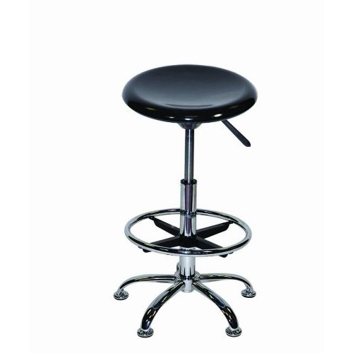 Offex Artisan Height Adjustable Home / Office Drafting Seating Stool Furniture Black Offex Artisan