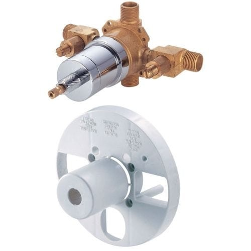 Danze D112000BT Pressure Balanced Universal Mixing Valve with Integrated Screwdriver Stops