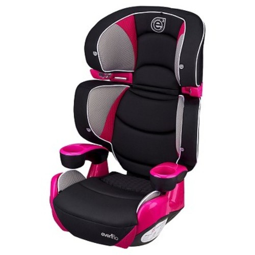 Evenflo Procomfort Right Fit Belt -Positioning Booster Car Seat - Piper