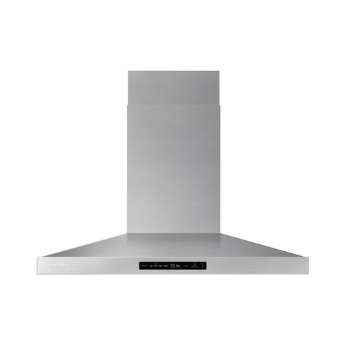 Samsung 36 in. Wall Mount Exterior Venting Range Hood in Stainless Steel with Wi-Fi