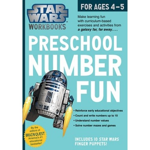 Star Wars Workbook - Preschool Number Fun
