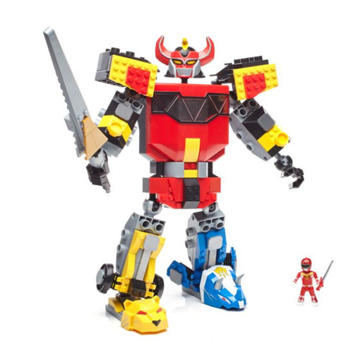 Mega Construx? Power Rangers? Mighty Morphin Megazord