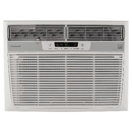 Frigidaire FFRE1833S2 18,000 BTU 230V Window-Mounted Median Air Conditioner with Temperature Sensing Remote Control