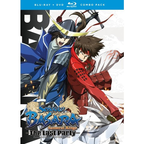 Sengoku Basara: The Last Party [2 Discs] [Blu-ray/DVD] [Eng/Jap] [2011]