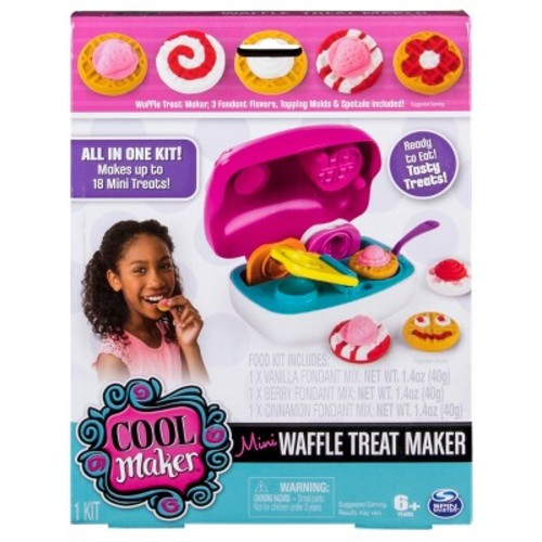 Cool Maker All in One Food Craft Kit Mini Waffle Treat Maker