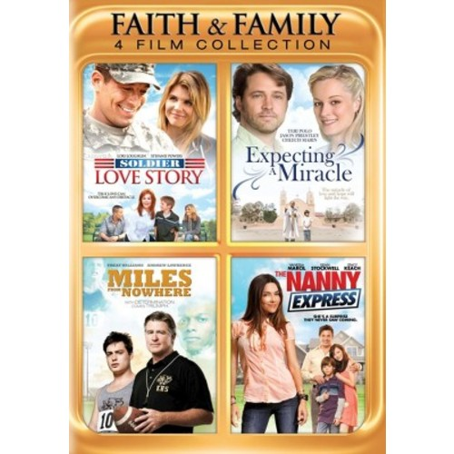 Faith & Family: 4 Film Collection [2 Discs]