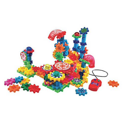 Gears!Gears!Gears! Lights & Action Building Set - Early Skill Development - 121 Pieces