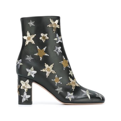 VALENTINO Garavani Star Embellished Ankle Boots
