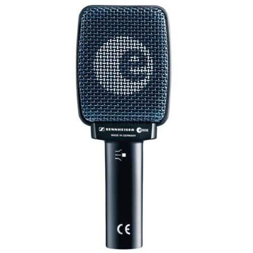 Sennheiser e 906 Wired Supercardioid Guitar Microphone W/Mini Boom Stand/Cable