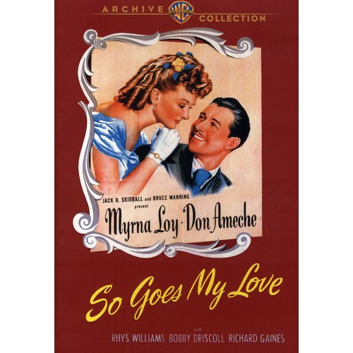 Warner Bros So Goes My Love, DVD