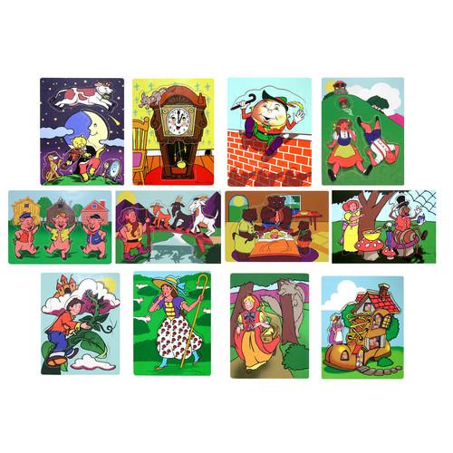 Melissa & Doug Fairy Tales And Nursery Rhymes Puzzles