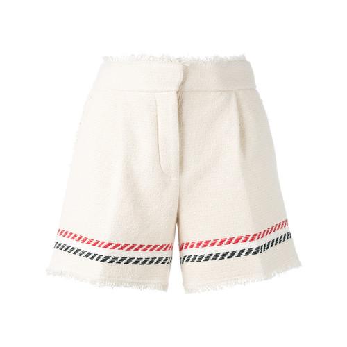 THOM BROWNE Striped Detail Shorts
