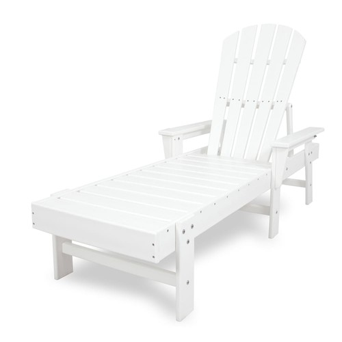 POLYWOOD South Beach Outdoor Chaise Lounge Chair