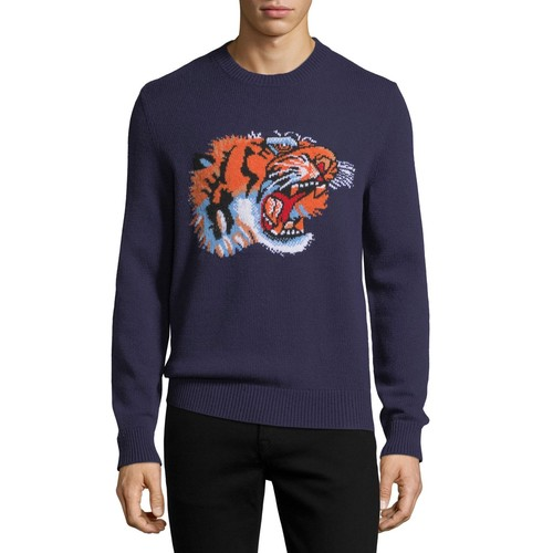 GUCCI Tiger Crewneck Sweater