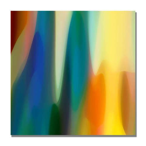Trademark Global Amy Vangsgard 'Color Fury VI' Canvas Art [Overall Dimensions : 18x18]