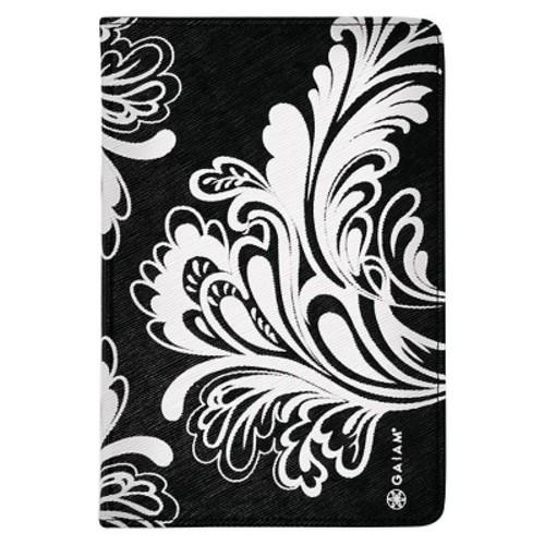 Gaiam Pose Folio Case for iPad Mini - Black and White Watercress
