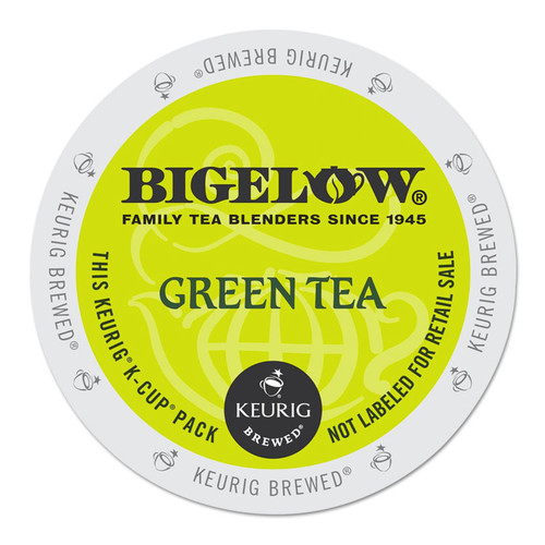 Bigelow Green Tea K-Cup Pack, 24/Box -GMT6085