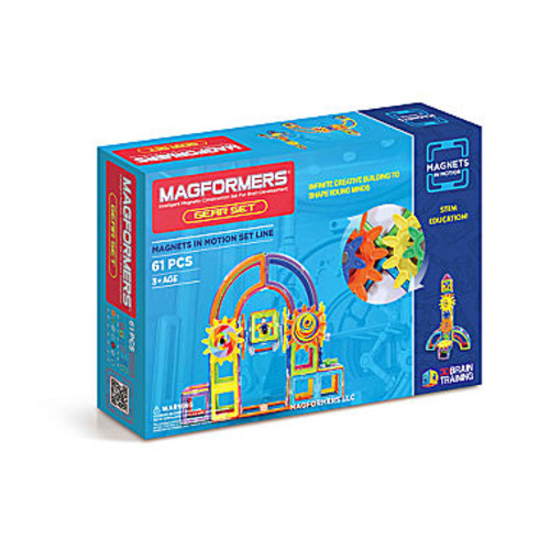 Magformers Magnets in Motion 61 PC. Gear Set
