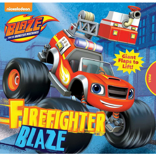 Blaze and the Monster Machines Firefighter Blaze Book