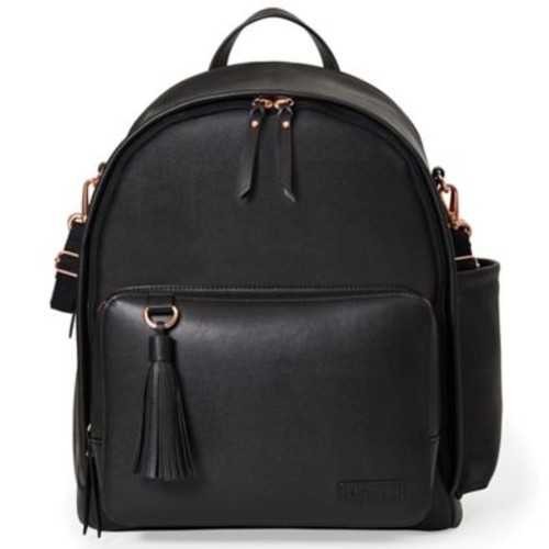 SKIP*HOP Greenwich Simply Chic Diaper Backpack in Black