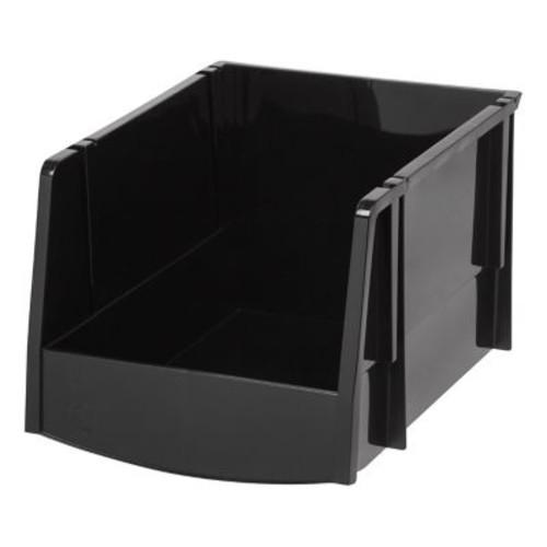 IRIS Extra Large Bin, Black, 6 Pack (200541)