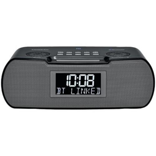 Sangean Rcr-20 Digital Am/fm-rds/bluetooth Clock Radio With Usb Charger