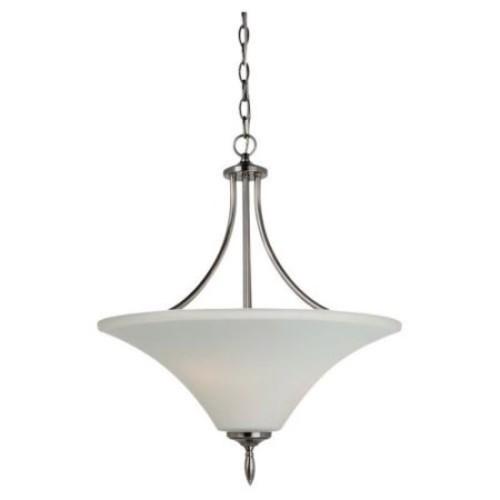 Sea Gull Lighting Montreal 3-Light Antique Brushed Nickel Pendant