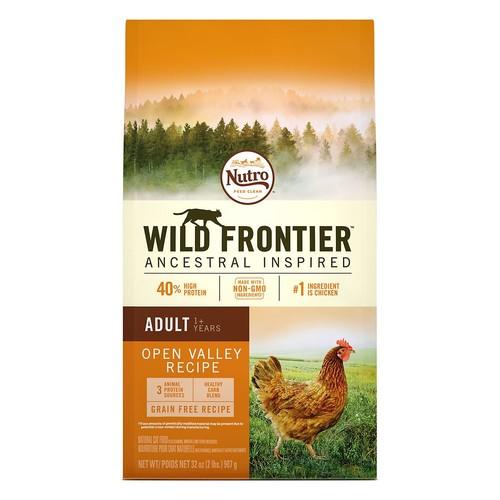 NUTRO Wild Frontier Adult Cat Food - Natural, Grain Free, Open Valley Recipe