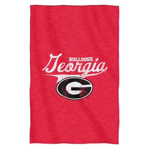 Georgia Sweatshirt Throw Blanket