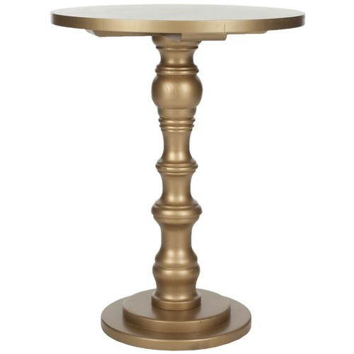 Safavieh Coffee, Sofa & End Tables Safavieh Greta Gold Accent Table