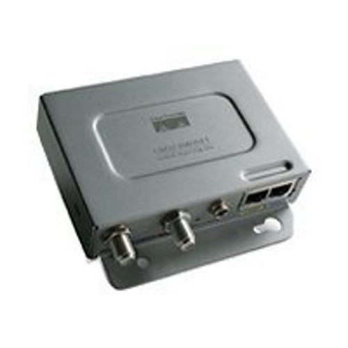Cisco Aironet Power Injector LR2T - PoE injector - output connectors: 2 - remanufactured (AIR-PWRINJBLR2T-RF)