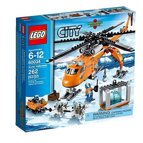 LEGO City Arctic Helicrane 60034 Building Toy (Discontinued by manufacturer)