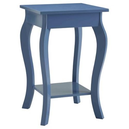 Ella End Table Blue - Convenience Concepts