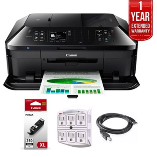 Canon PIXMA MX922 Wireless Inkjet Office All-In-One Printer + 1 Year Extended Warranty