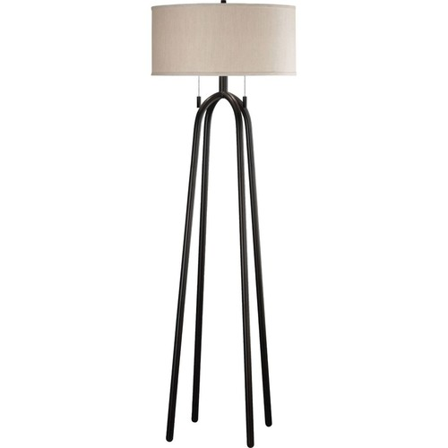 Kenroy Home Sheaf Quadratic Floor Lamp; Oil Rubbed Bronze Finish