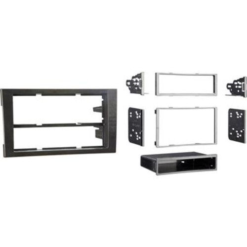 Metra 99-9107B Dash Kit Fits select 2002-09 Audi A4 and 2004-08 S4 models  single- or double-dash radios