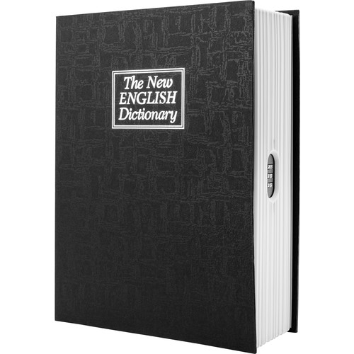 Barska Dictionary Book Lock Box with Combination Lock