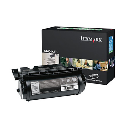 Lexmark 64404XA Extra-High-Yield Return Program Black Toner Cartridge