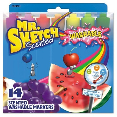Mr. Sketch Markers, Chisel - Multi-Colored